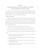 Tài liệu Chương 1: Các mạch tính toán, điều khiển và tạo hàm dùng khuếch đại thuật toán doc