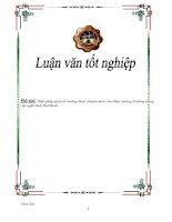 Tài liệu Tiểu luận - Biện pháp quản lý trưởng khoa chuyên môn của Hiệu trưởng Trường trung cấp nghề tỉnh Hoà Bình pptx
