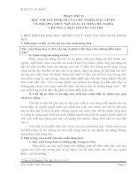 Bài giảng môn nguyên lý II  HỌC THUYẾT KINH TẾ CỦA CHỦ NGHĨA MÁC-LÊNIN VỀ PHƯƠNG THỨC SẢN XUẤT TƯ BẢN CHỦ NGHĨA