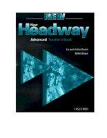 Tài liệu NewHeadway- Level A pptx