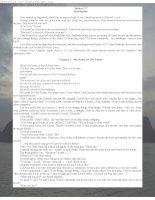 Tài liệu Truyện ngắn tiếng Anh: Subject 117 ppt