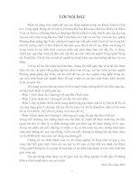 Tài liệu Giáo trình toán rời rạc - Lời nói đầu + Mục lục pdf