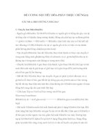 Tài liệu ĐỀ CƯƠNG NỘI TIÊU HÓA-PHẦN TRIỆU CHỨNG(tt) pdf