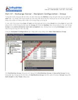 Tài liệu Part 37 - Exchange Server - Recipient Configuration - Group doc