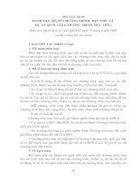 Tài liệu Phụ lục số 04: Danh mục mã số chương trình, mục tiêu và dự án quốc gia pptx