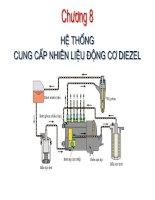 Tài liệu Hệ thống cung cấp nhiên liệu động cơ Diesel docx