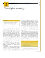 Tài liệu CLINICAL PHARMACOLOGY 2003 (PART 4) pptx