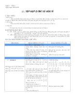 Bài giảng Đại số 7. Chương 1