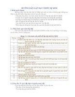 Tài liệu HƯỚNG DẪN LẮP ĐẶT THIẾT BỊ XDM pdf