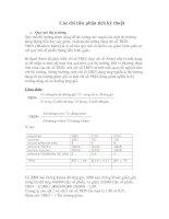Tài liệu Các chỉ tiêu phân tích kỹ thuật docx