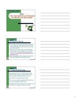 Tài liệu Lập và quản lý với dự án 2002 doc