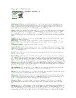 Tài liệu Thuật ngữ về TMĐT vần R, S docx