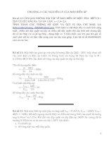 Tài liệu Bài tập máy biến áp pdf