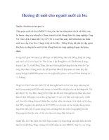 Tài liệu Hướng đi mới cho người nuôi cá lóc docx