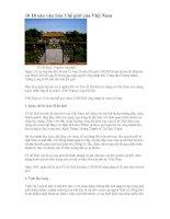 Bài giảng 10 di sản văn hóa thế giới của Việt Nam