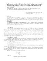 Tài liệu MÔ PHỎNG HỆ THỐNG ĐIỀU KHIỂN CÁC THIẾT BỊ BÙ TRONG HỆ THỐNG TRUYỀN TẢI ĐIỆN XOAY CHIỀU LINH HOẠT pptx
