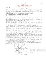 Tài liệu Vật liệu kim loại - Chương 5: Thép và Gang ppt
