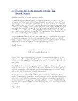 Tài liệu Hy vọng táo bạo của Barack Obama pdf