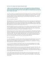 Tài liệu Làm việc cho công ty nước ngoài: không đơn giản! pdf