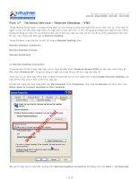 Tài liệu Part 17 - Terminal Service - Remote Desktop - VNC pptx