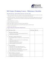 Tài liệu MS Project Training Course (Tieng Viet) pdf
