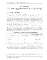 Tài liệu KỸ NĂNG GIAO TIẾP TRONG KINH DOANH CHƯƠNG 4 ppt