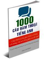 1000 CÂU ĐÀM THOẠI TIẾNG ANH