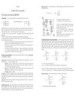 Tài liệu bài giảng môn học cung cấp điện - phần 4 pdf