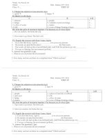 Bài giảng TEST 15 LAN 3
