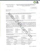 Tài liệu Đề thi tốt nghiệp THPT môn Tiếng Anh năm 2010 mã đề 802 pptx