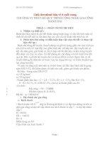 Thiết kế quy trình công nghệ gia công bánh đai (Có file bản vẽ)