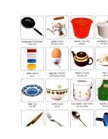 Tài liệu Các từ tiếng Anh về các vật dụng trong nhà bếp pptx