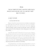 Tài liệu KINH NGHIỆM TỔ CHỨC CHƯƠNG TRÌNH SINH HOẠT NGOÀI GIỜ LÊN LỚP pptx