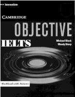 Tài liệu Objective ielts intermediate workbook part 1 pdf