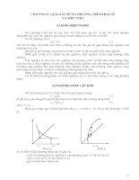 Tài liệu Chương 8: Giải gần đúng phương trình đại số và siêu việt pdf