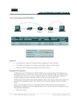 Tài liệu Lab 1.2.8 Configuring DHCP Relay pptx