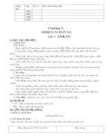Bài giảng Giáo án chương 5 - Hóa 11