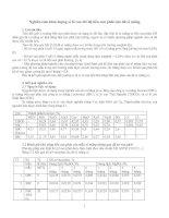 Tài liệu Nghiên cứu hàm lượng xỉ lò cao pptx