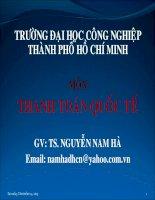 Tài liệu GÍAO ÁN THANH TOÁN QUỐC TẾ- CHƯƠNG 5 ppt