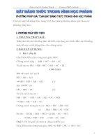 Bài soạn BĐT trong Hình học phẳng (Hot)