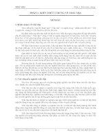 Tài liệu GIÁO TRÌNH TRẮC ĐỊA Phần 1 pdf