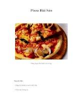 Tài liệu Pizza Hải Sản ppt