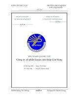 Tài liệu Báo cáo thực tập :Công ty cổ phần luyện cán thép Gia Sàng pptx