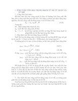 Tài liệu TÍNH TOÁN NHIỆT Chương 6b pdf
