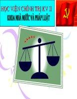 Vi phạm pháp luật và trách nhiêm pháp lý