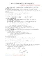 Tài liệu Tóm tắt lý thuyết hóa vô cơ 12 doc