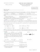 Tài liệu Bộ đề ôn thi tốt nghiệp hệ phân ban môn lý đề 2 pdf