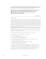 Tài liệu Hướng dẫn ôn thi CFA Level 1 2010 Phần 10 doc