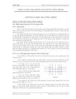 Tài liệu Trắc địa công trình_phần 4 pptx