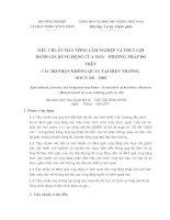 Tài liệu Tiêu chuẩn máy nông lâm nghiệp pdf